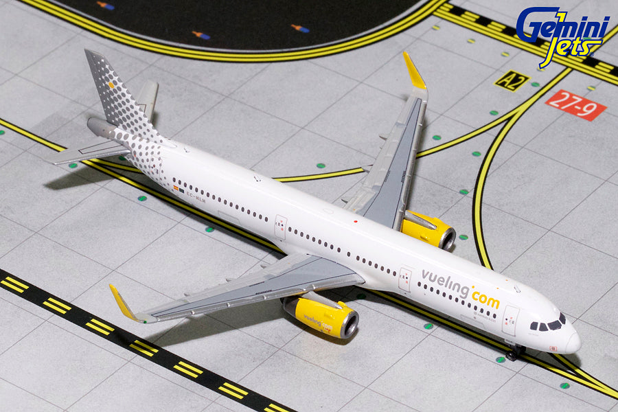 Gemini Jets Vueling Airlines Airbus A321 1:400 Scale GJVLG1683 - Skywing World