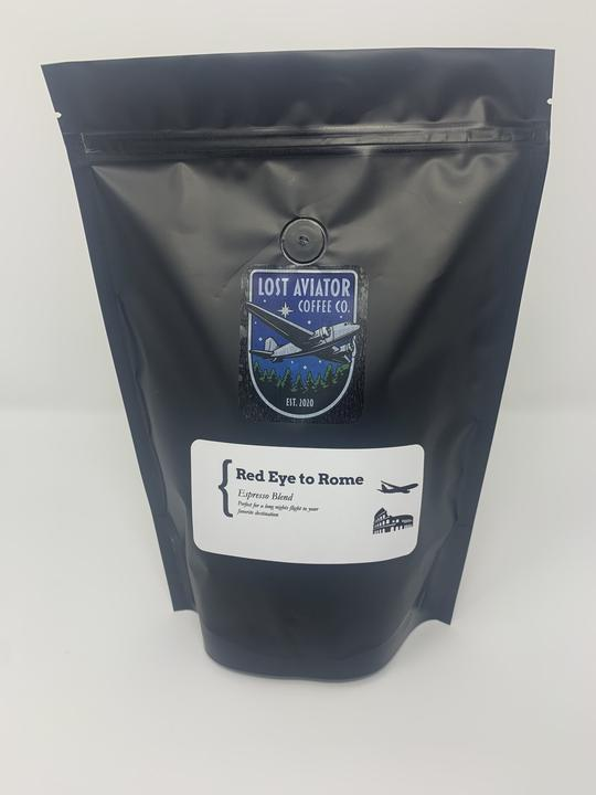 Lost Aviator Coffee - Red Eye to Rome - Espresso Blend 340g/12oz x6 Bags
