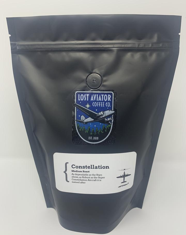 Lost Aviator Coffee - Constellation Medium Roast Coffee 340g/12oz x6 Bags