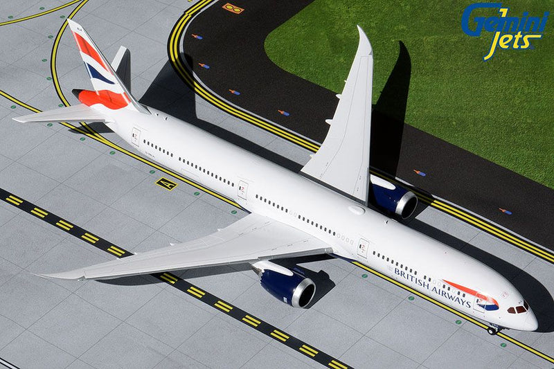 Gemini Jets British Airways Boeing B787-10 Dreamliner 1:200 Scale G2BAW904 With Stand