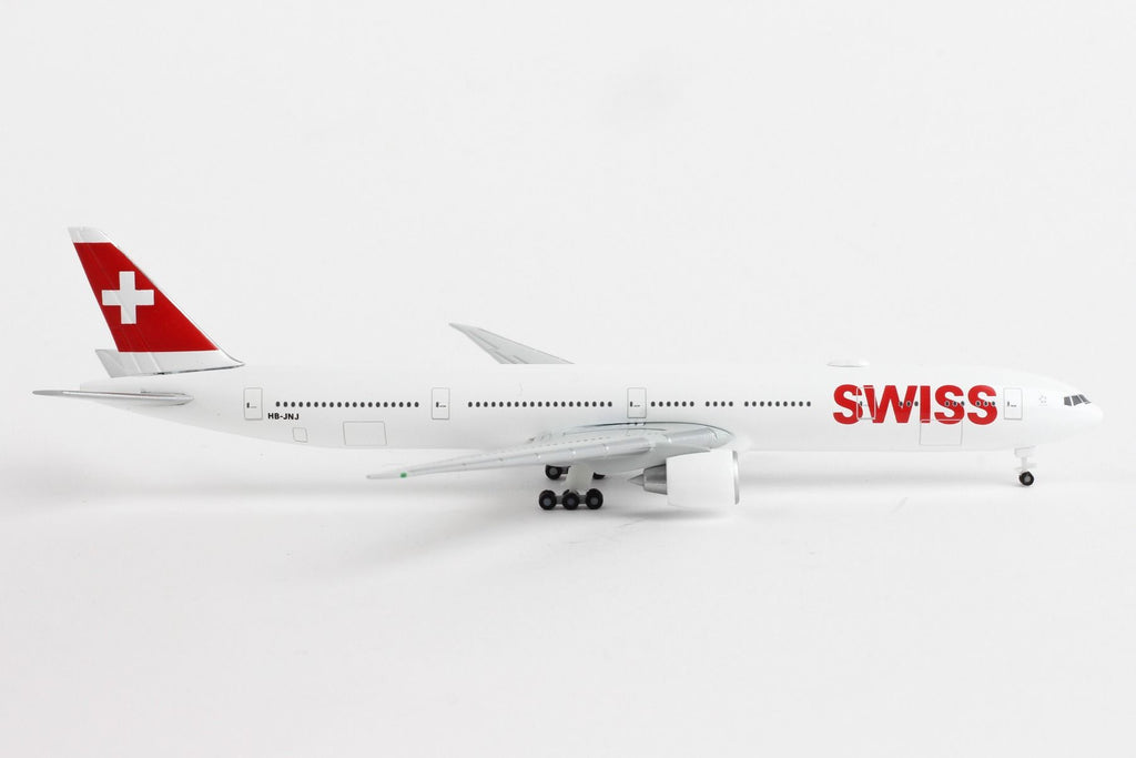 Herpa Swiss International Boeing B777-300ER 1:500 Scale HE529136-002 - Skywing World