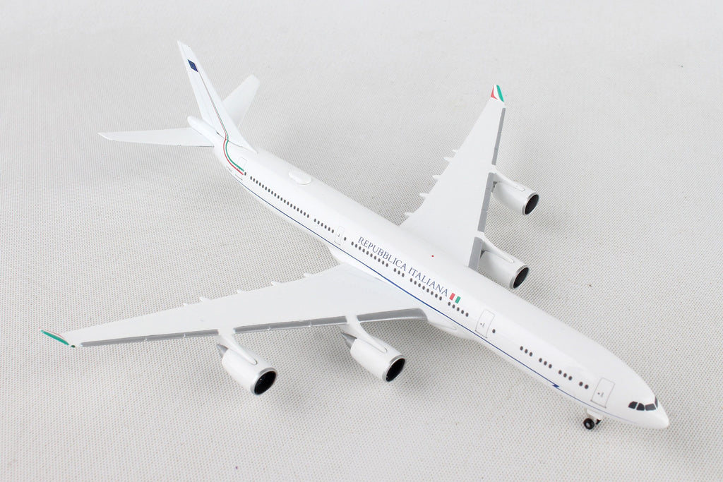 Herpa Italian Air Force Airbus A340-500 1:500 Scale HE530385 - Skywing World
