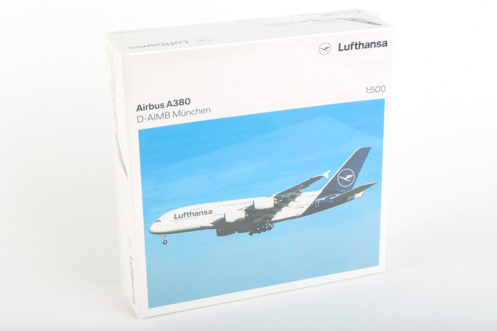 Herpa Lufthansa Airbus A380 1:500 Scale New Livery HE533072 - Skywing World