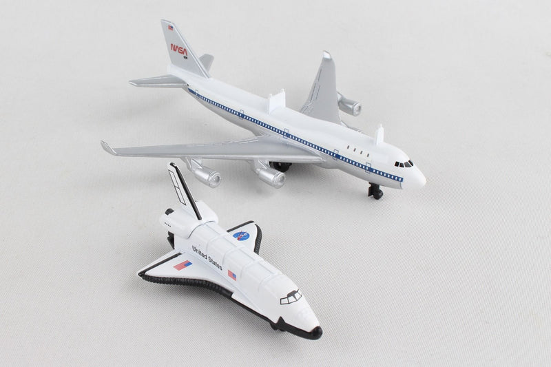 Daron Nasa Space Shuttle with Boeing B747 Transporter Aircraft Toy Models - Skywing World