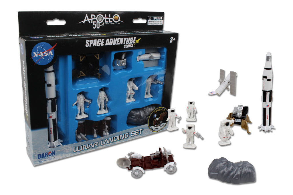 Daron NASA Lunar Moon Landing Set Apollo 50th Anniversary RT9117 - Skywing World