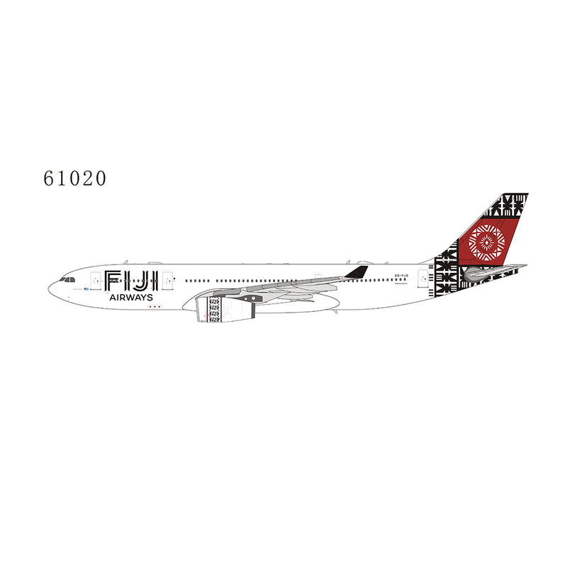 NG Model Fiji Airways Airbus A330-200 1:400 Scale 61020