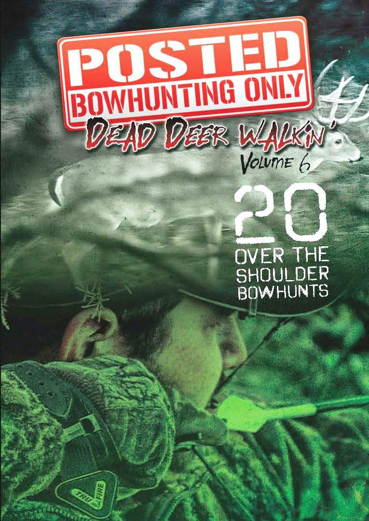 Dead Deer Walking Volume 6 DVD