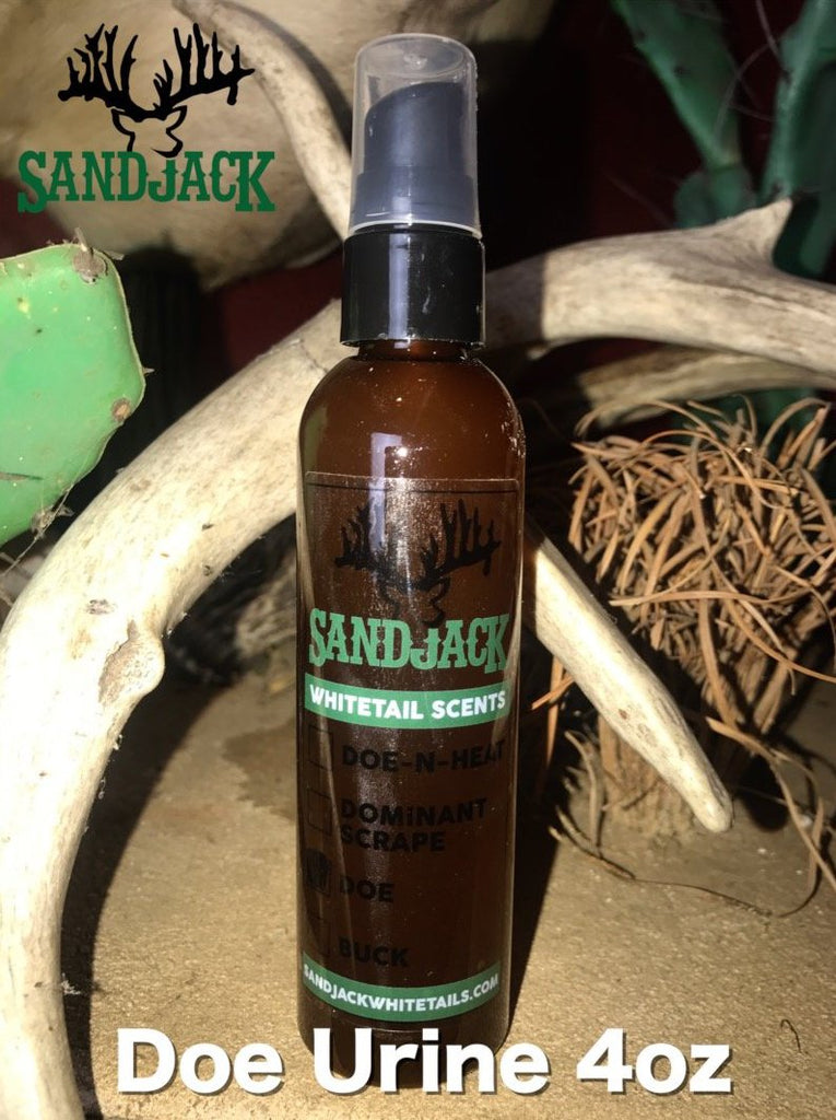 Doe Urine 4 oz SandJack Deer Scents