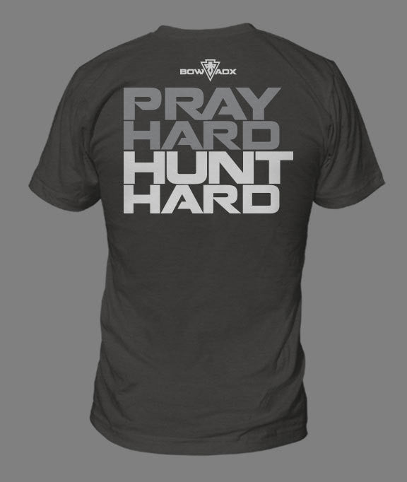 Pray Hard T-Shirt by BOWADX
