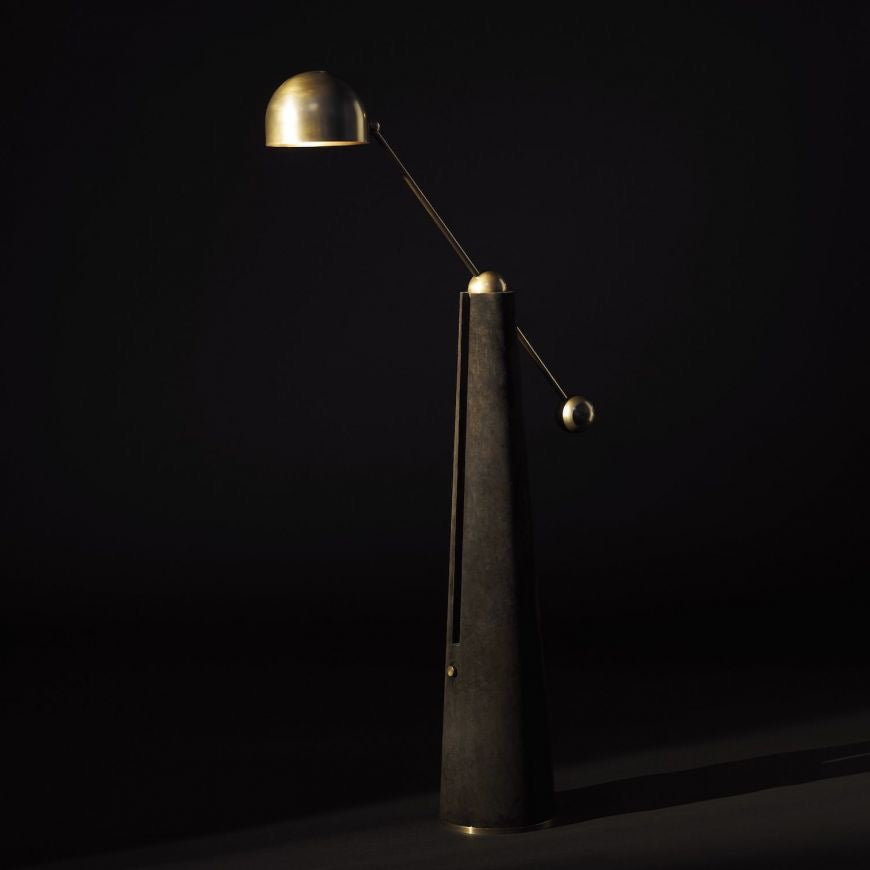 Metronome Articulating Floor Lamp