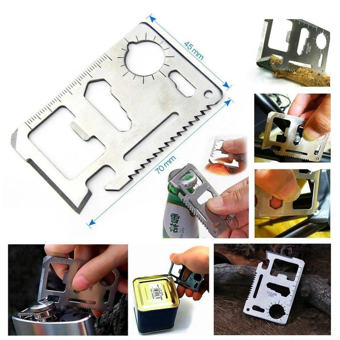 6 in 1 Pockt Size Multifunctional Survival Kit