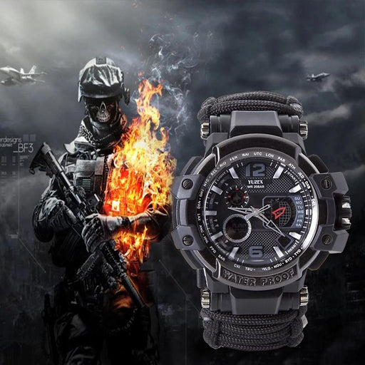 Yuzex Multi-functional Survival Watch
