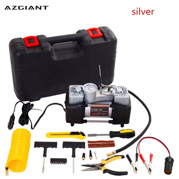 Air Compressor Puncture Tool Kit With Box