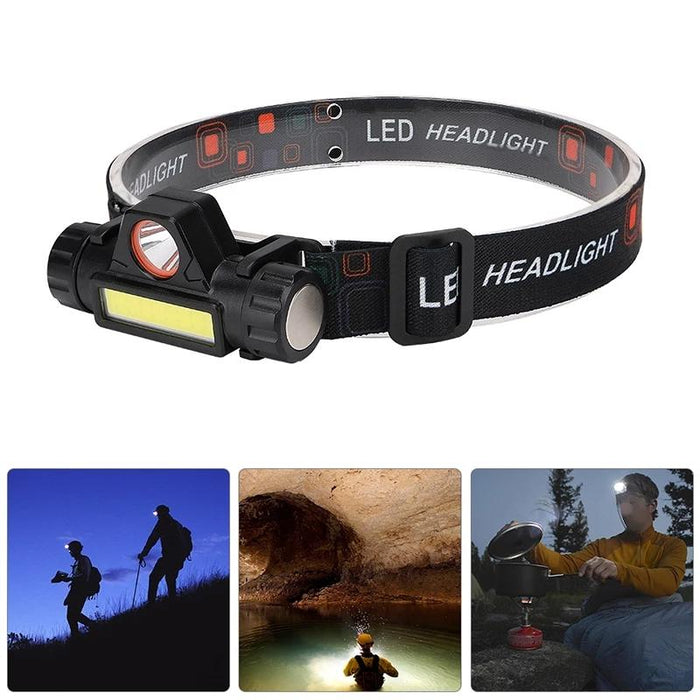 Super Bright Rechargeable Head Lamp