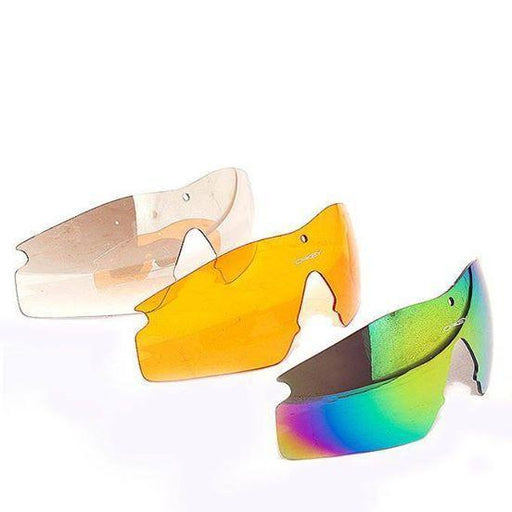 Oakley Multi-Color Glasses With 4 Shades And Free Oakley Hard Pouch