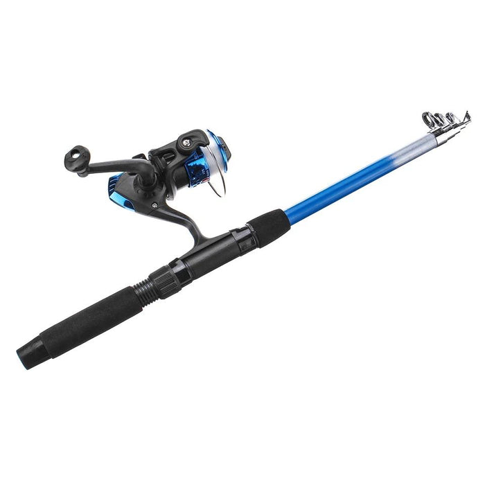13 In 1 Telescopic Fishing Rod + Spinning Reel