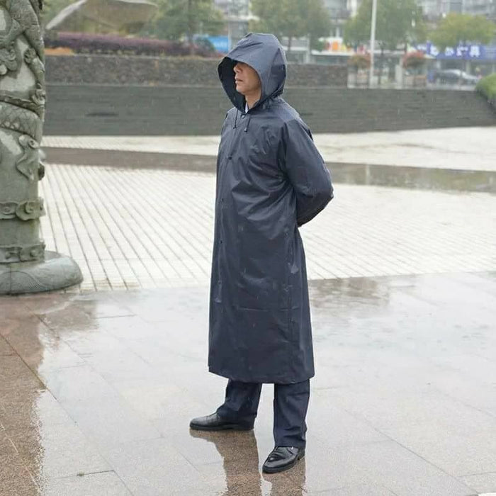 Supreme Quality Imported Raincoat-Blue