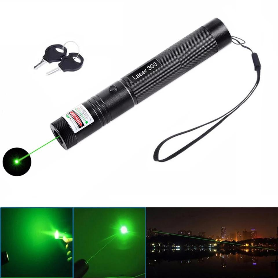 Rechargeable Powerful Green Laser Pointer – With More Then 4 KM