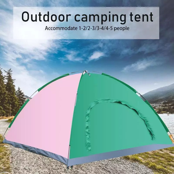 Manual Camping Tents (Water Resistance with Carry Bag)