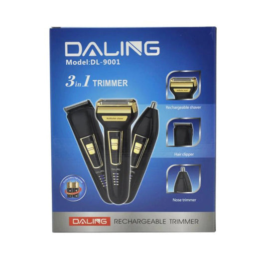 3 in 1 Professional Grooming Kit Dl-9001