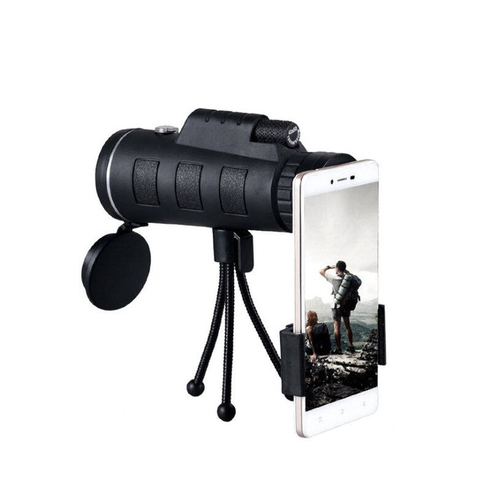 40x60 Outdoor Single Mini HD Monocular Cell Phone Camera Lens Telescope with Tripod