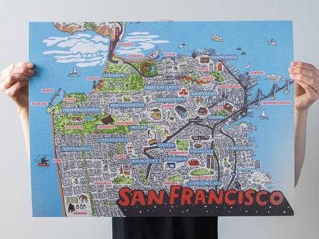 San Francisco Map for Rare Device