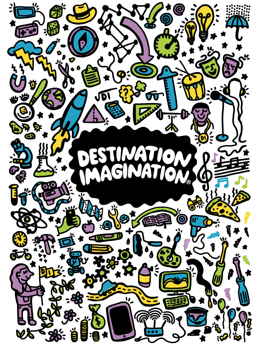 destination imagination graphic
