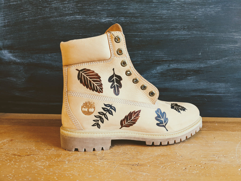 Briana Custom Boots for Timberland - Live Hand Finishing Events