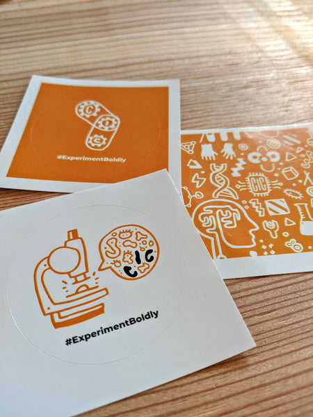 Brainstorm stickers for 20th Anniversary for Cambridge Innovation Center (CIC)