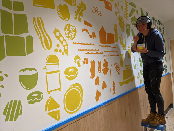 Brainstorm Mural for Whole Foods