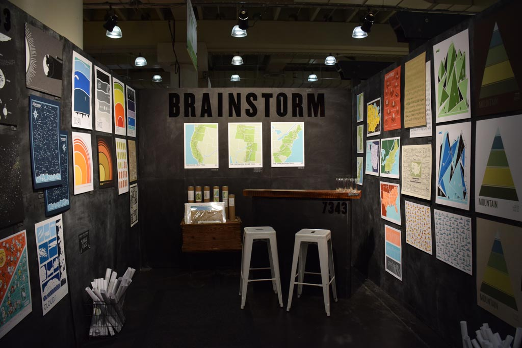 Brainstorm at NY NOW - Winter 2016