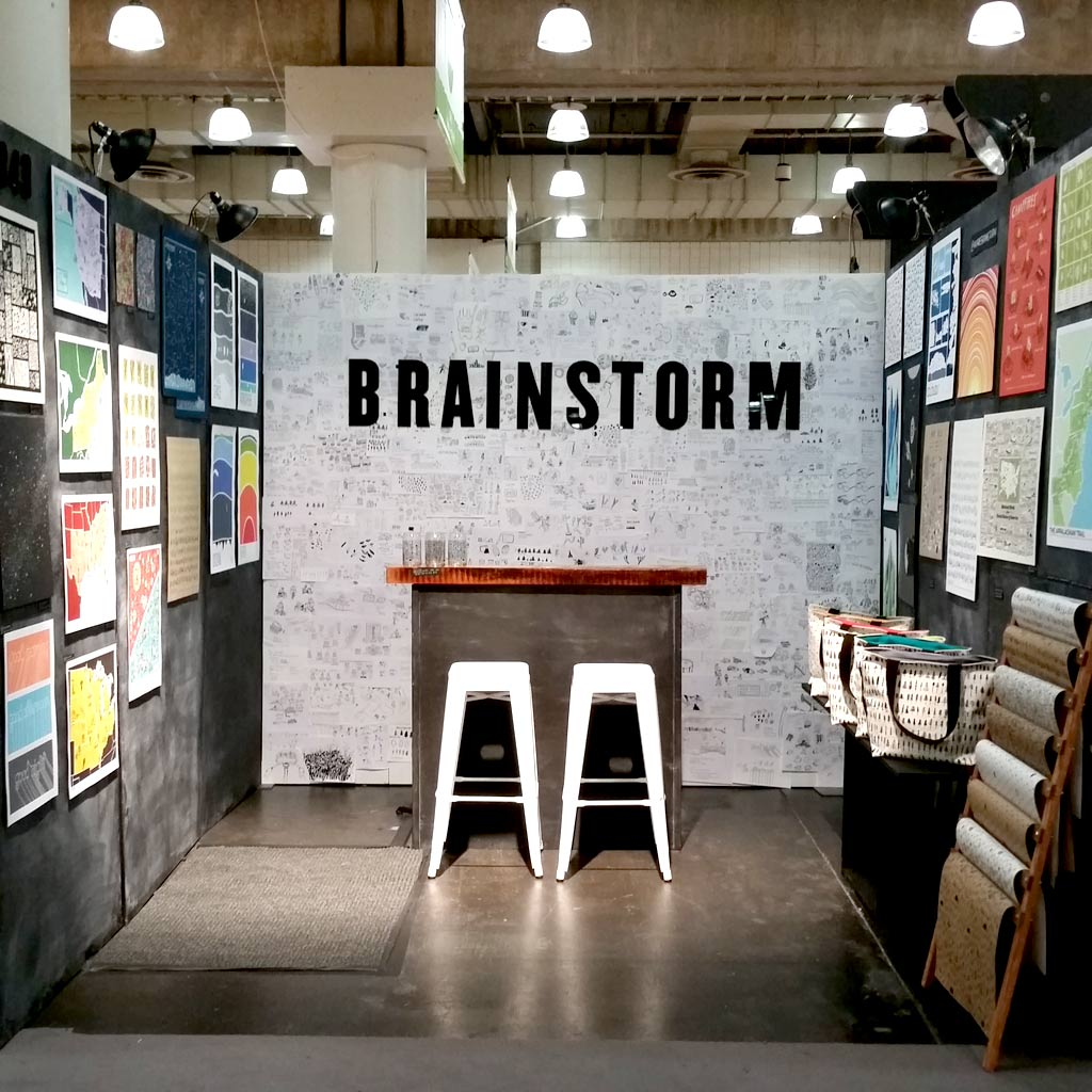Brainstorm Prints and Goods at NYNOW August 2015