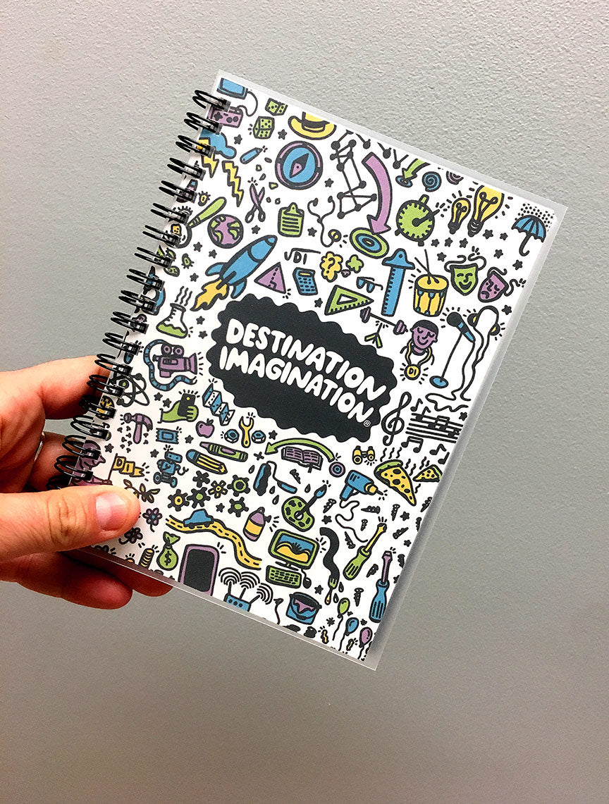 destination imagination notebook
