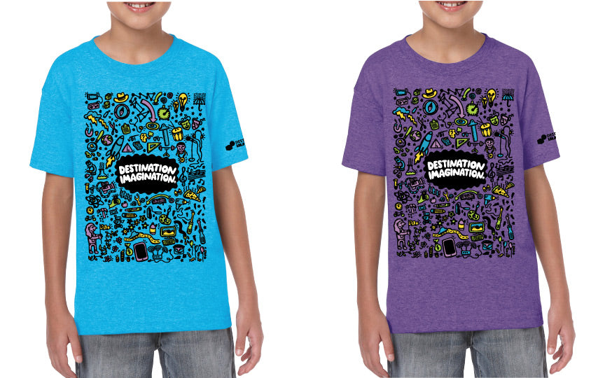 destination imagination tee