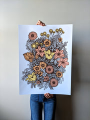 Overgrowth Floral Print by Brainstorm