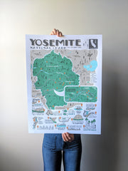 Yosemite Print by Brainstorm - Sales help support the Native American Rights Fund
