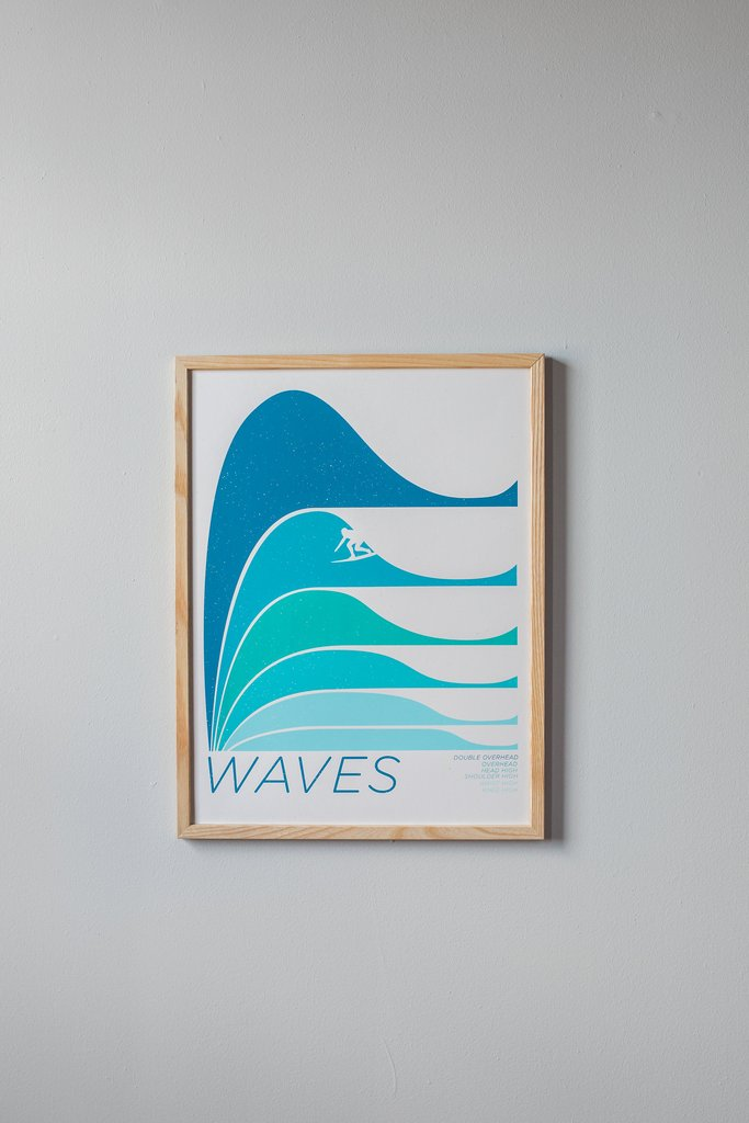 Light Waves Print