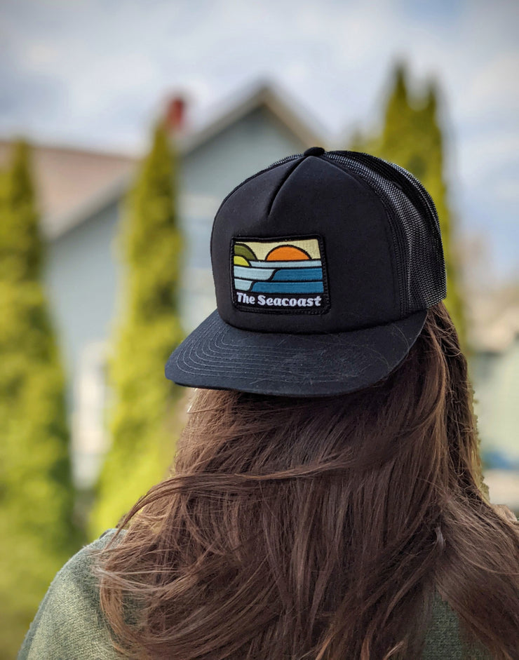 The Seacoast - Foamy Five Panel Trucker Hat