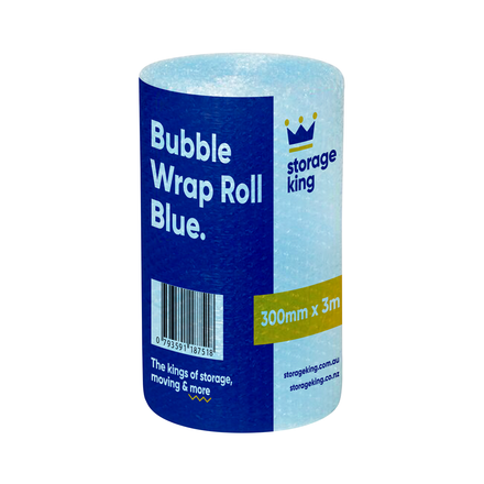 Bubble Wrap 300mm x 3m (Blue)