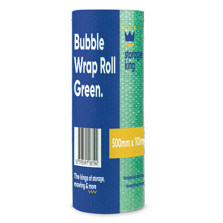 Bubble Wrap 500mm x 10m (Green)
