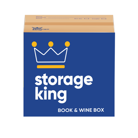 Book & Wine Box