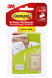 3M Command Wirebacked Value Pack