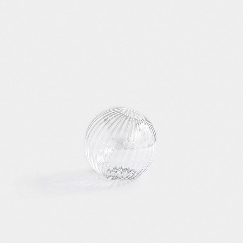 SUGAHARA GLASS - STRIPE CLEAR