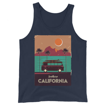Southern California Beach Van - Men's Tank Top