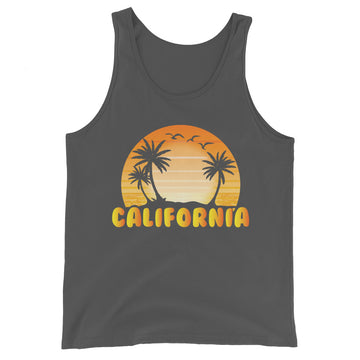 Classic California Beach - Men's Tank Top