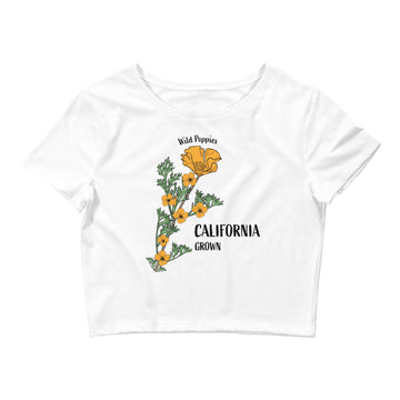 Wild Poppies - Women's Crop Top