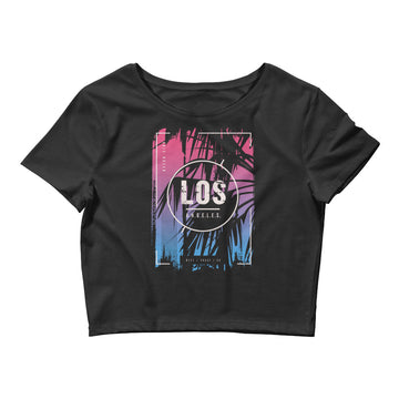 Los Angeles Ocean Side - Women's Crop Top