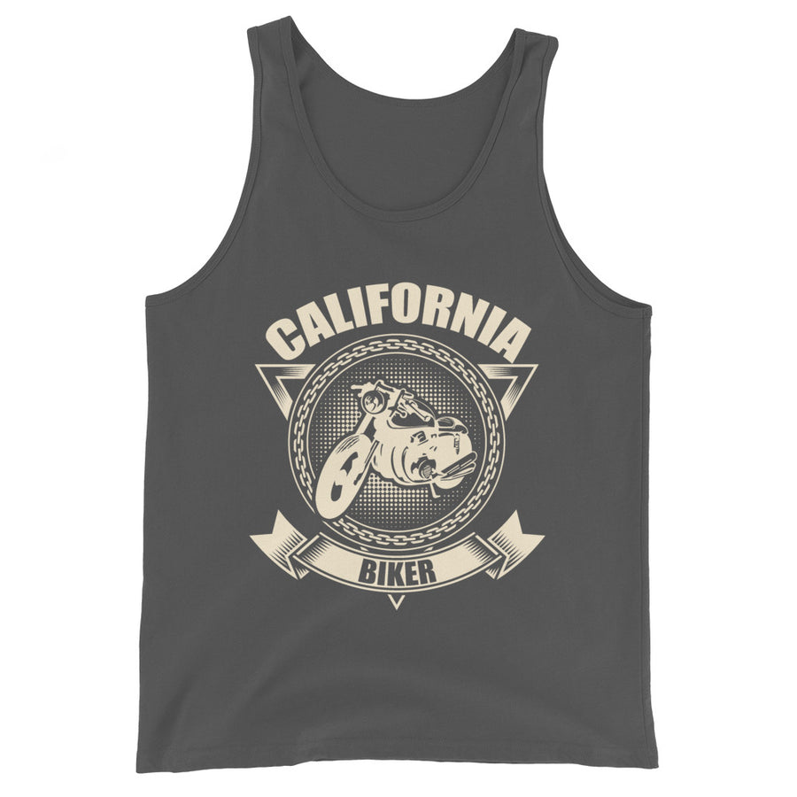 California Biker Motorcycle - Tank Top