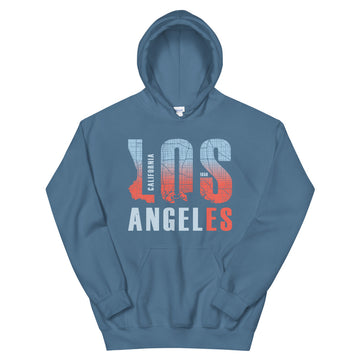Los Angeles Map Style - Women's Hoodie