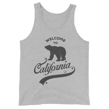 Welcome to California - Men's Tank Top
